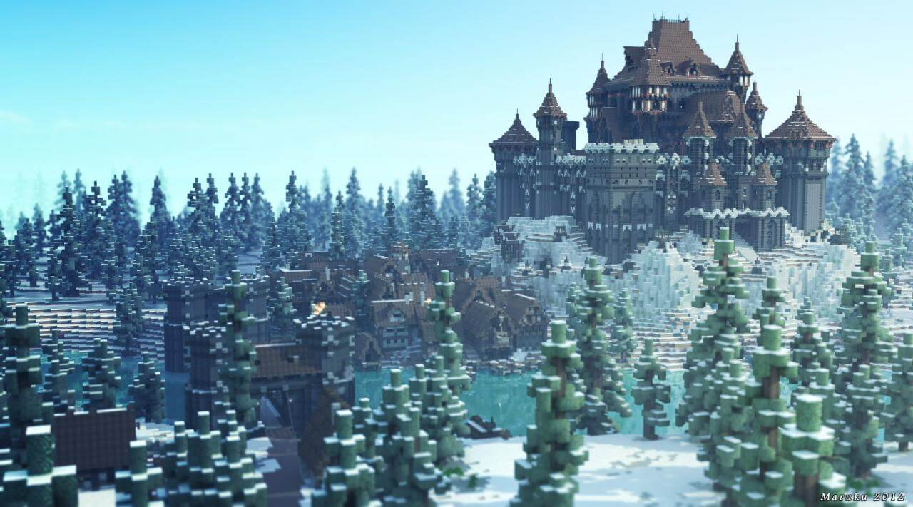 Map Westeros Craft : A Game of Blocks - The-Minecraft.fr