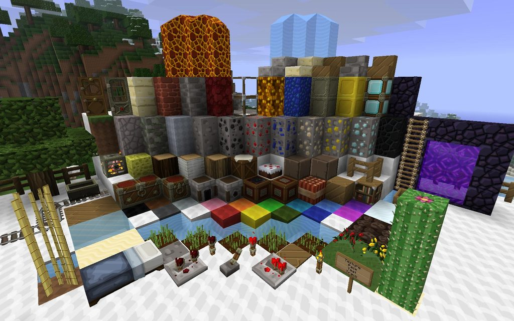 Sphax PureBDcraft Texture Pack Image 1