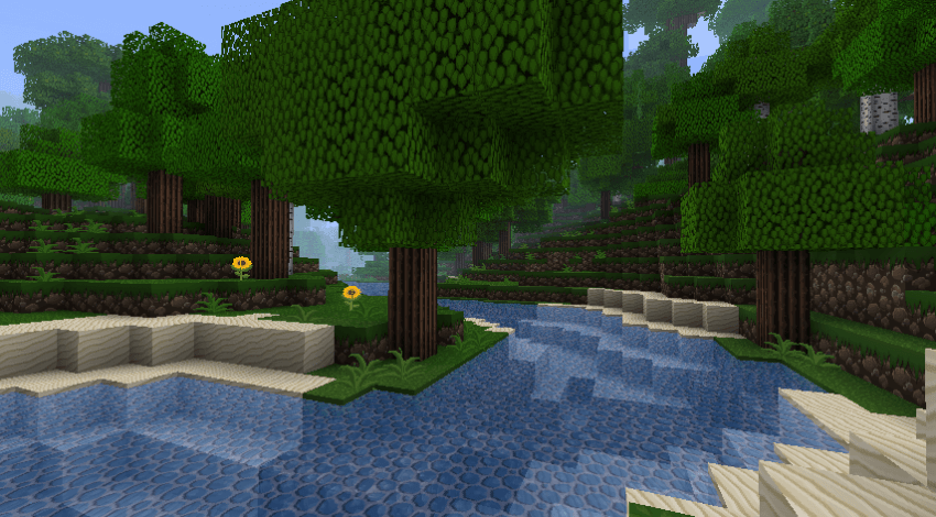 Texture Pack SilverMines - The-Minecraft.fr