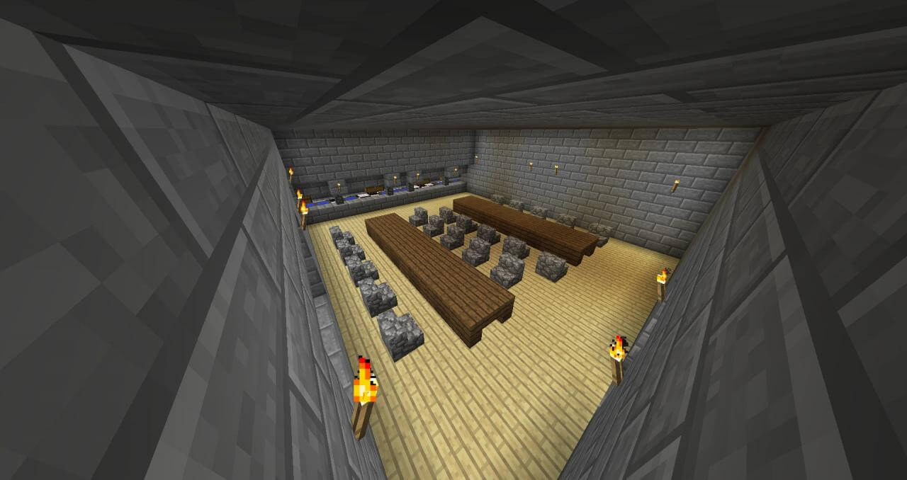 Map Cops and Robbers 1 : Classic - The-Minecraft.fr