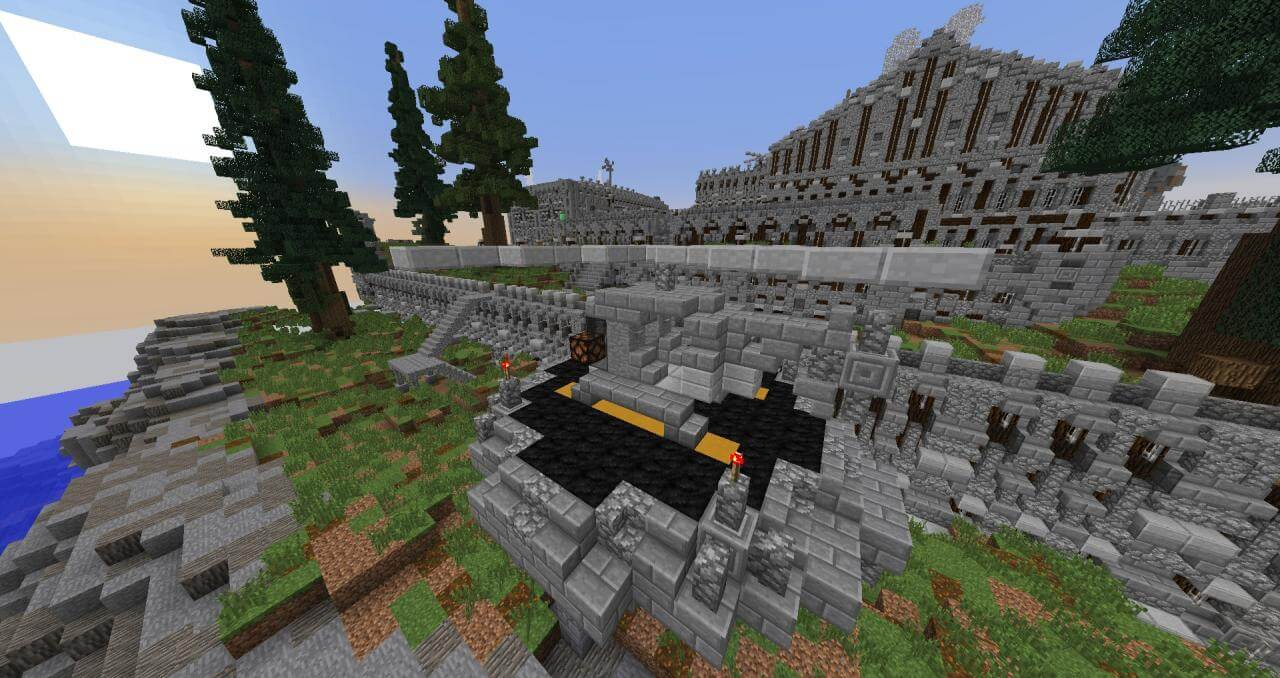 Map Cops and Robbers 4 : High Security - The-Minecraft.fr
