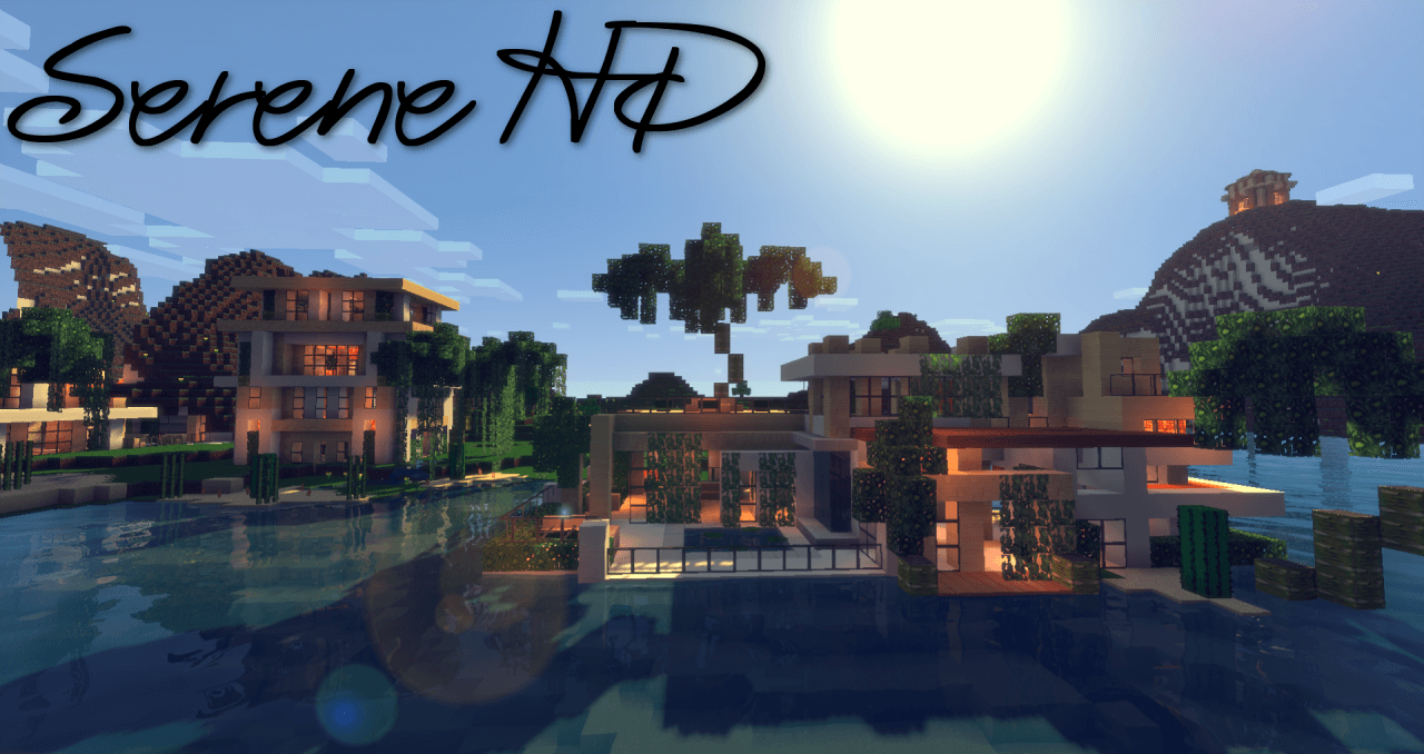 Texture Pack Serene HD - The-Minecraft.fr