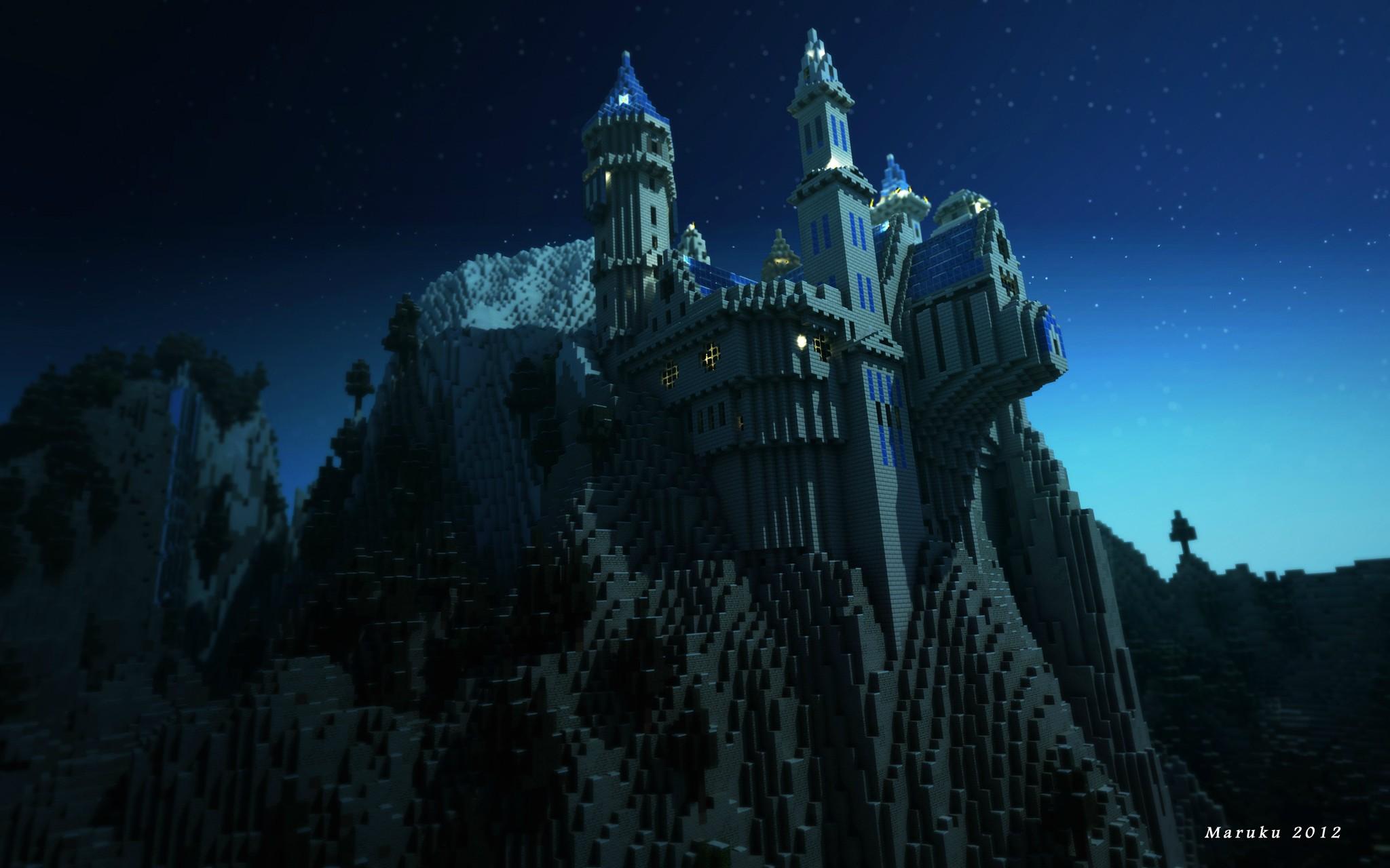 Fond D'écran Minecraft : Minecraft Castle