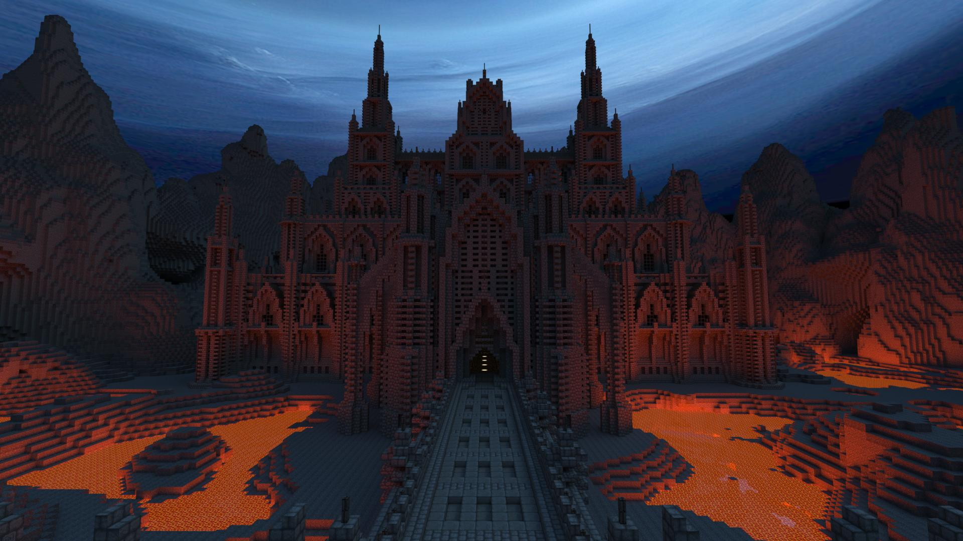 Fond d'écran Minecraft : Forteresse