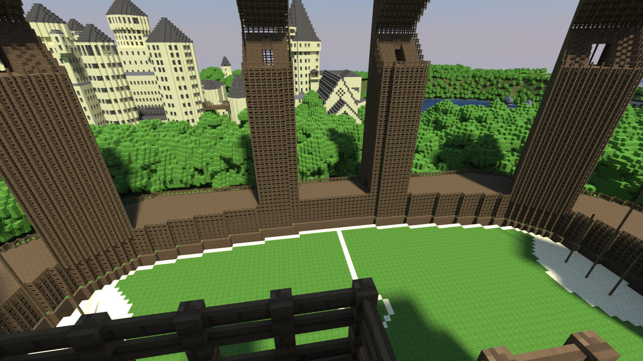 Map Hogcraft (Harry Potter) - The-Minecraft.fr