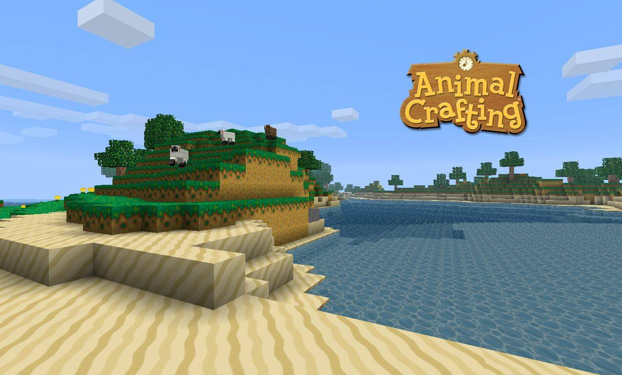 Texture Pack Animal Crafting - The-Minecraft.fr