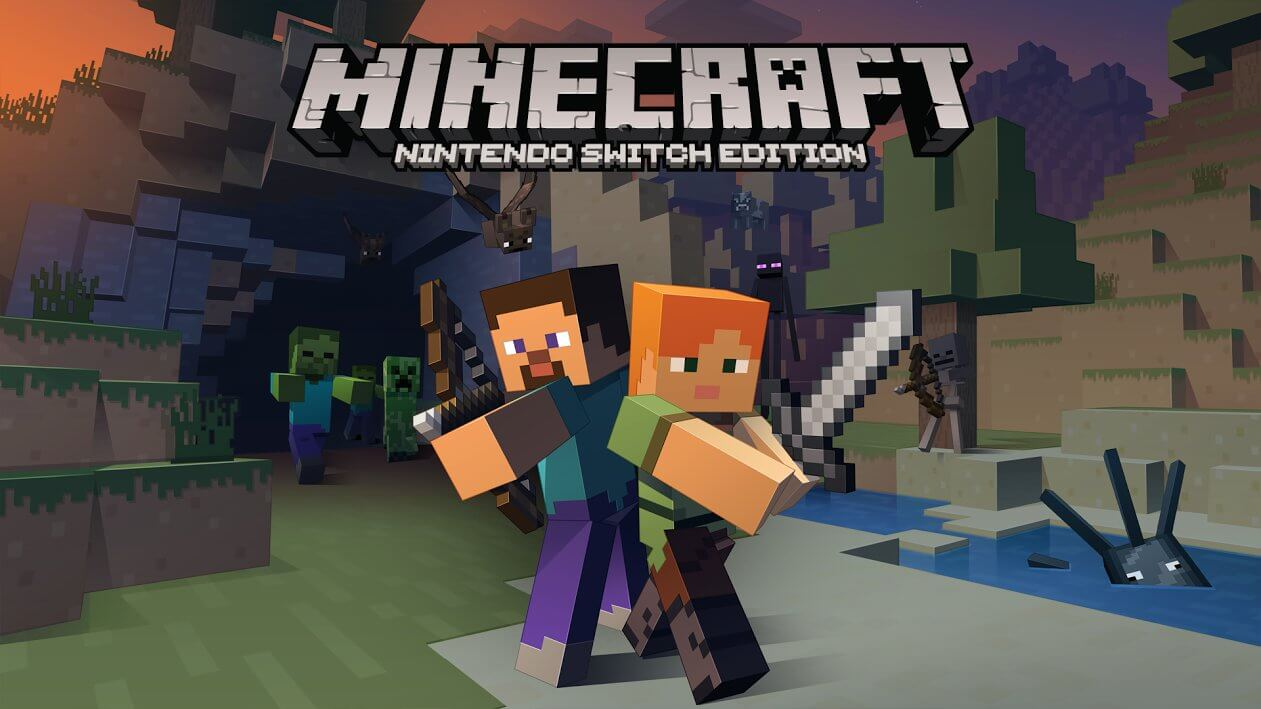 Actualité Minecraft sur Nintendo Switch le 11 Mai - The-Minecraft.fr
