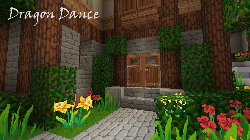 Texture Pack Dragon Dance - The-Minecraft.fr