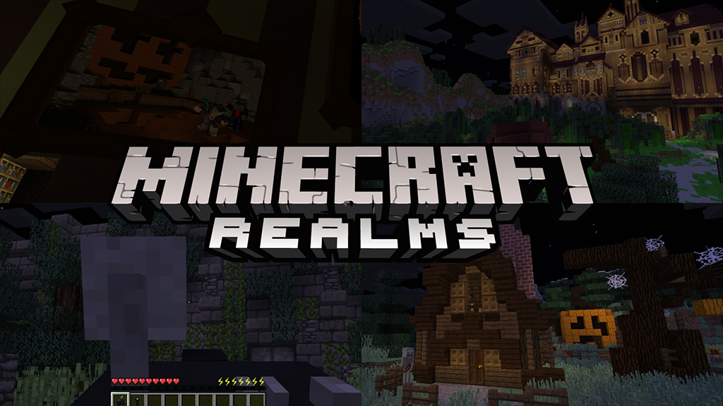Actualité 7 maps d'Halloween pour Minecraft Realms - The-Minecraft.fr