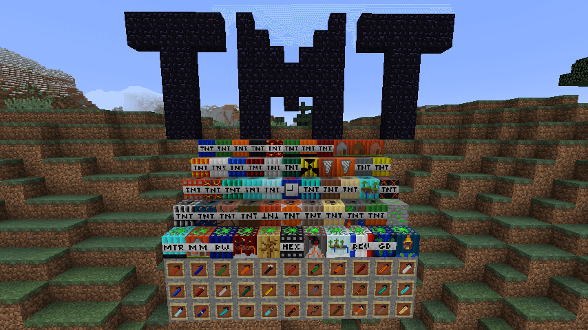 Mod Too Much TNT - The-Minecraft.fr