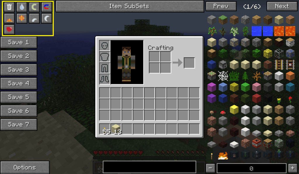 Not enough items nei mod minecraft 1 8 - Outil minecraft ...