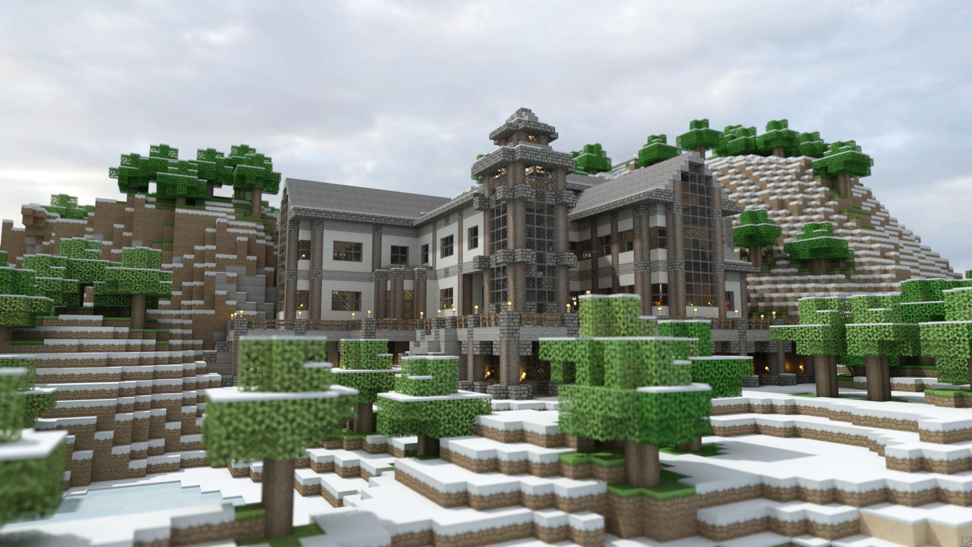 Maison Minecraft Moderne – Ventana Blog