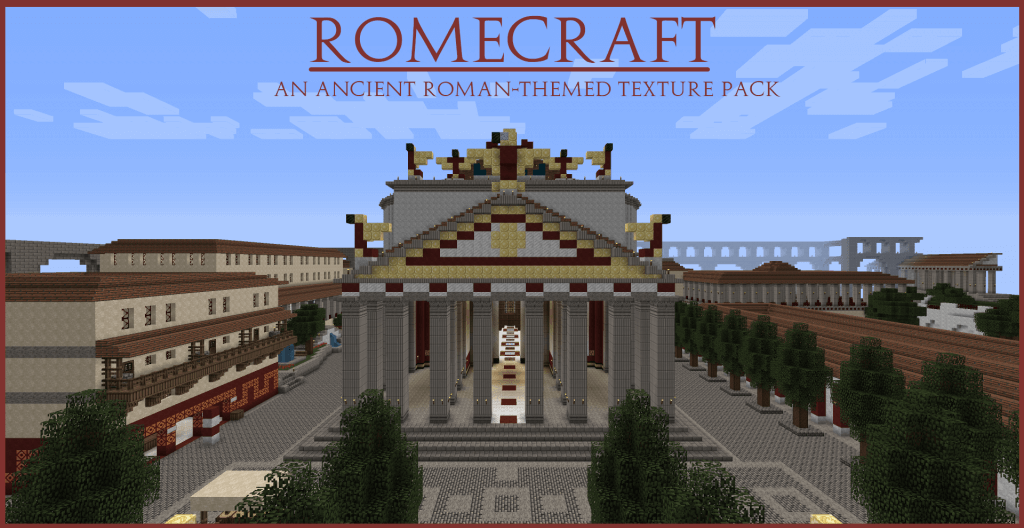 Texture Pack RomeCraft - The-Minecraft.fr