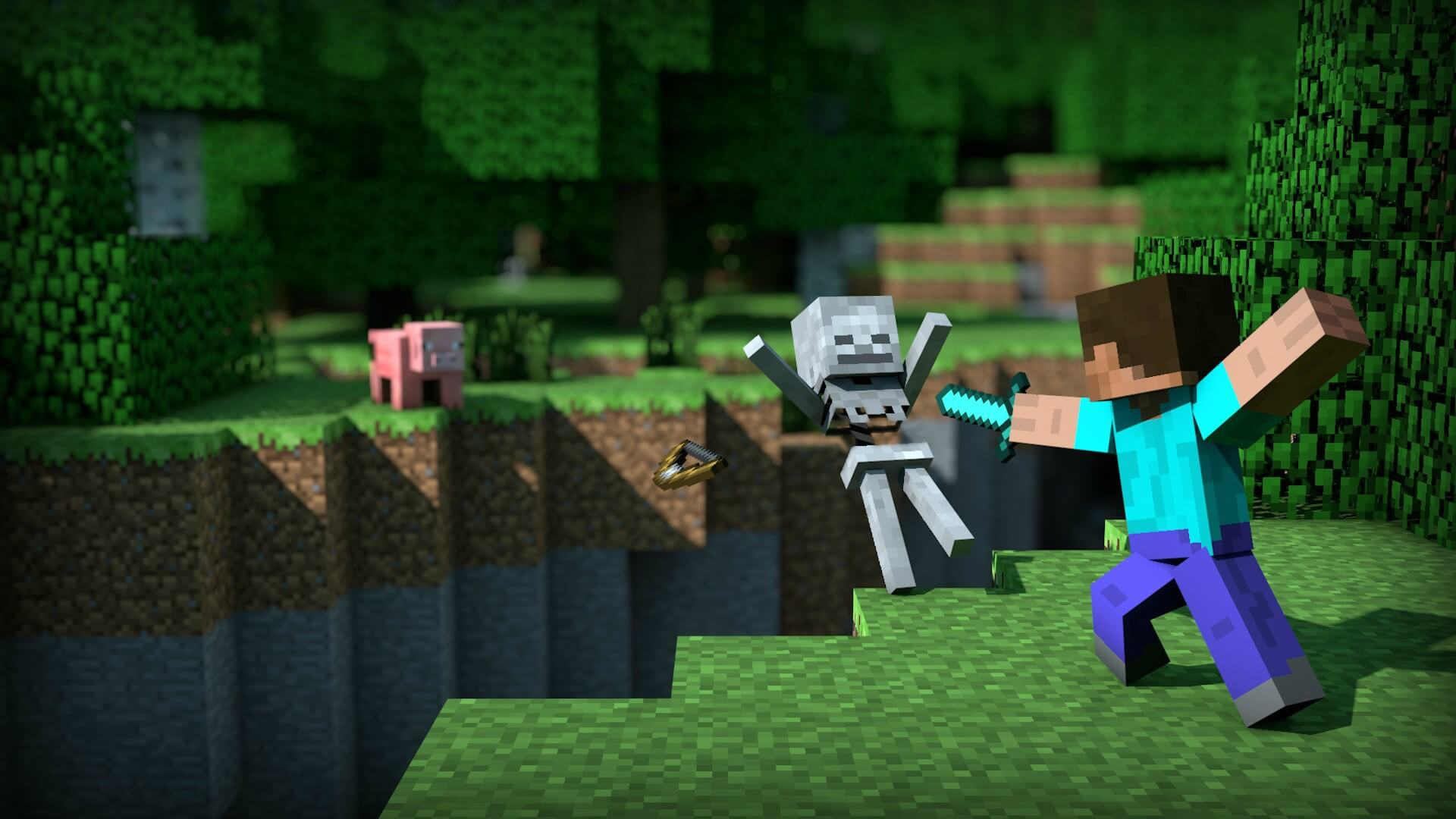 Wallpaper La Revanche - The-Minecraft.fr