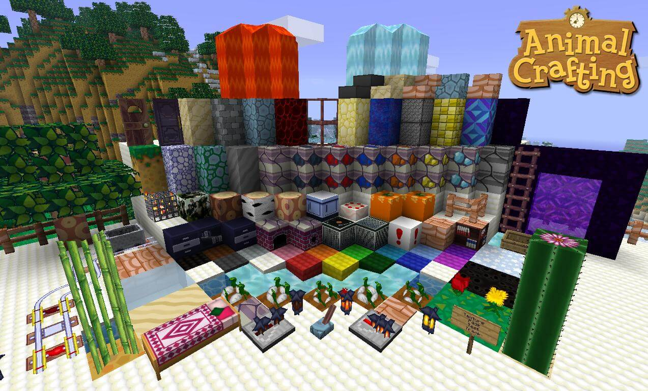 Animal Crafting Texture Pack Image 2