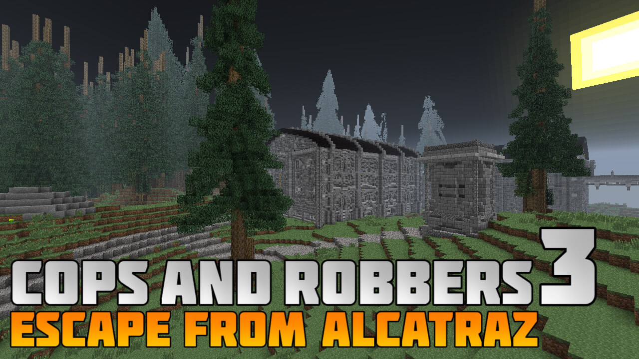 Cops and Robbers 3 : Escape from Alcatraz Map Image 1