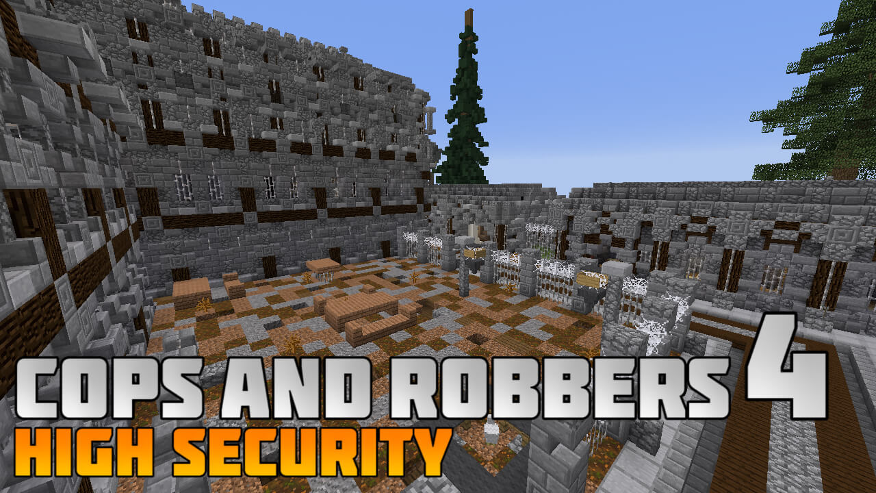 Cops and Robbers 4 : High Security Map Image 1