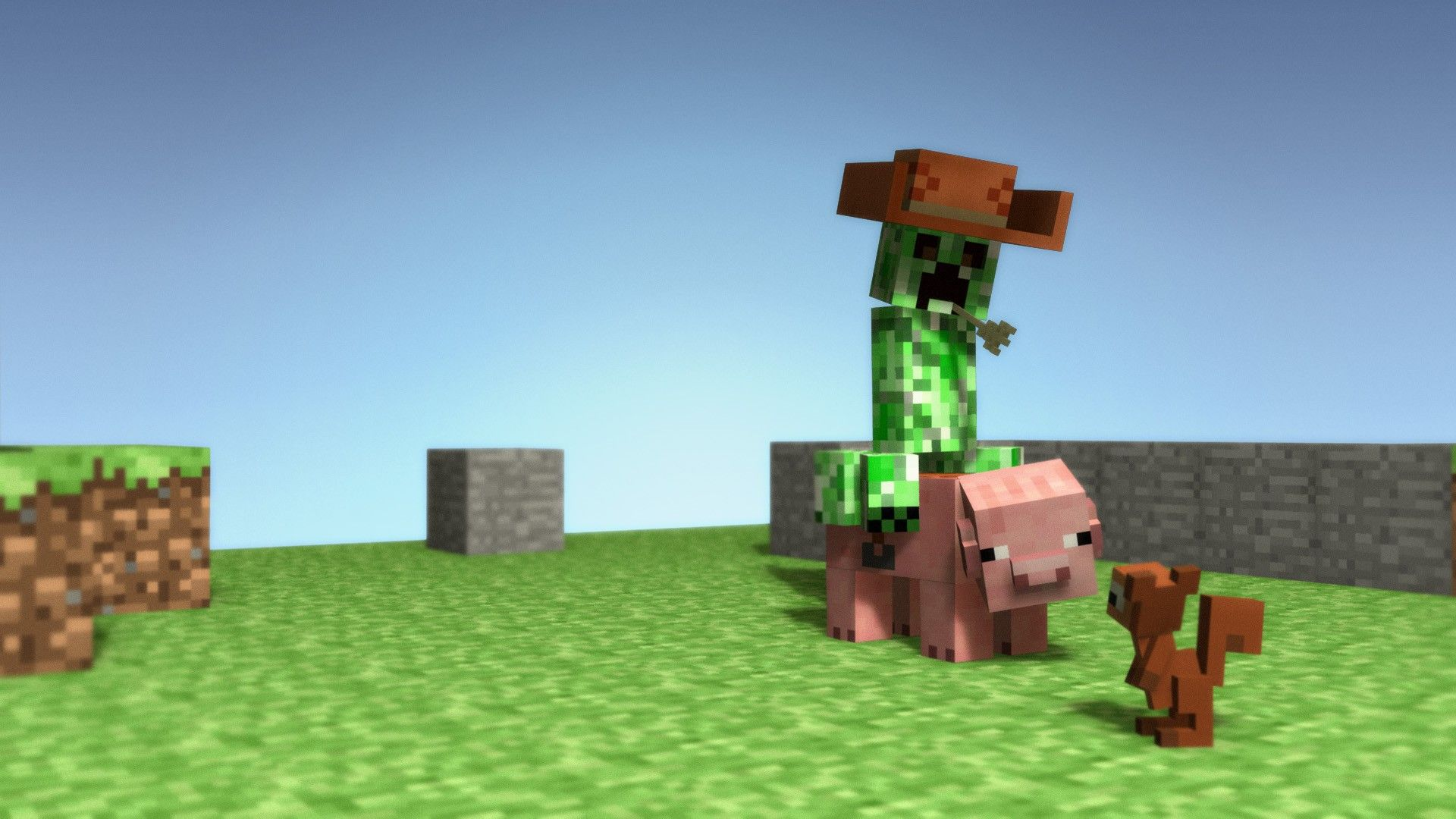Creeper CowBoy Wallpaper Image