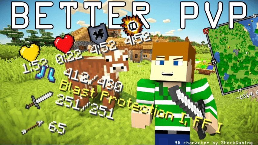 Mod Better PvP - The-Minecraft.fr