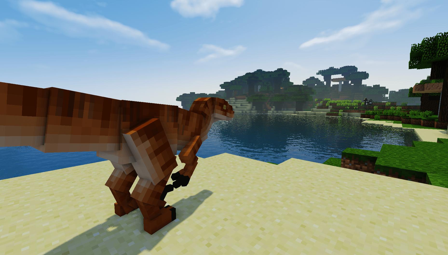 Minecraft Jurassic Craft