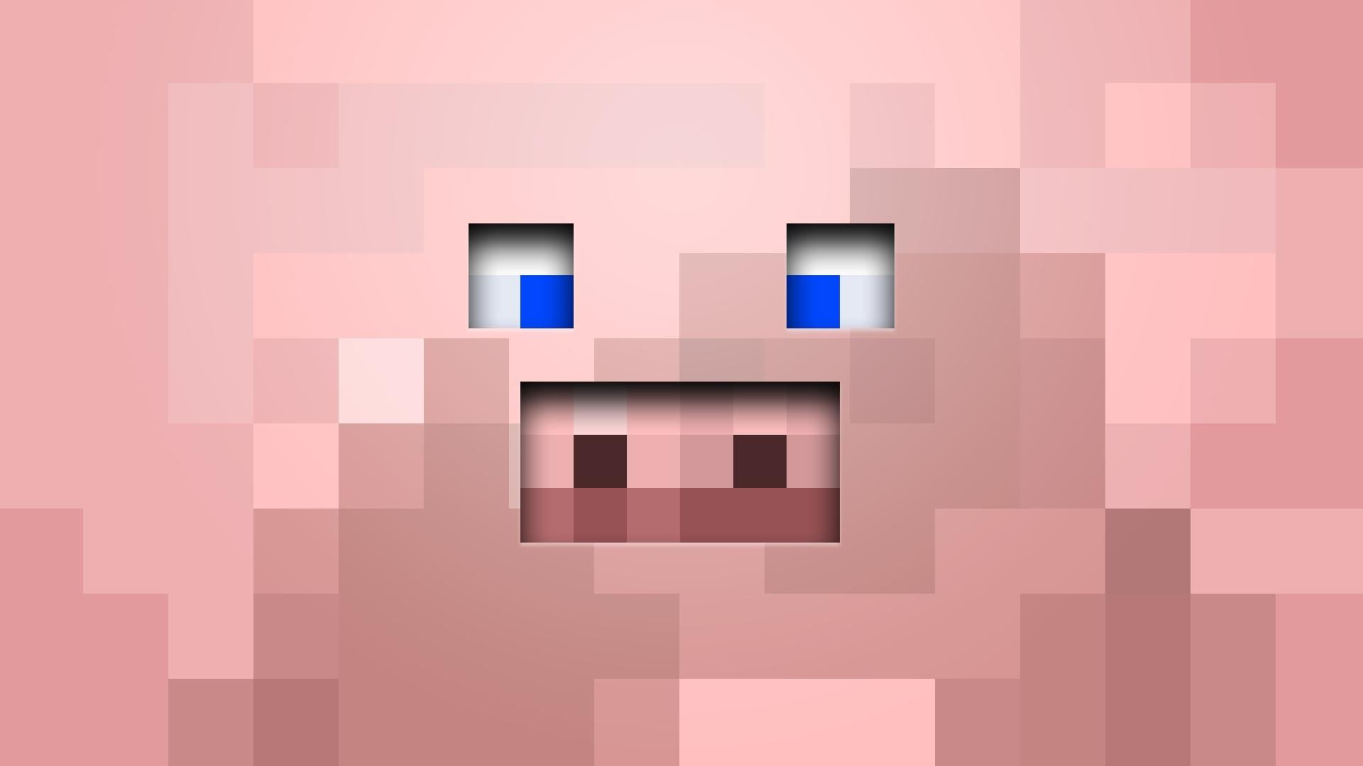 Fond d 39 cran minecraft cochon - Minecraft cochon ...