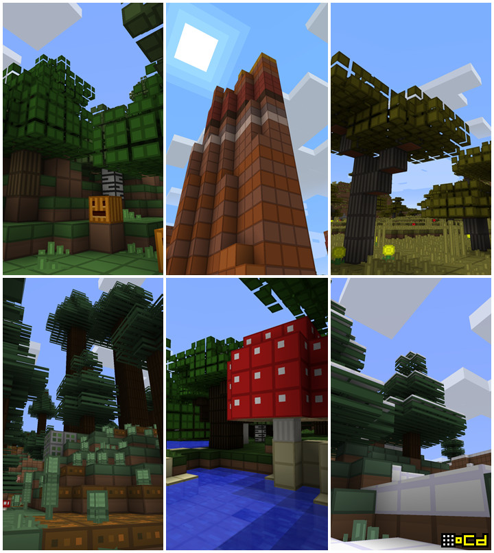 oCd Pack Texture Pack Image 1