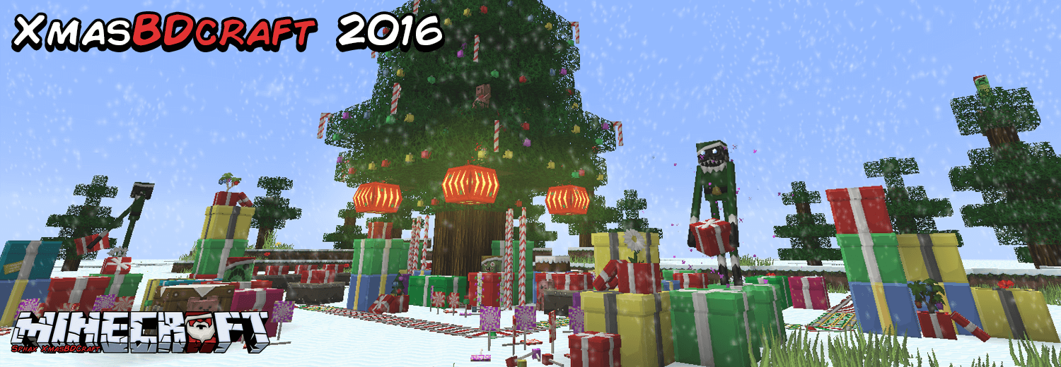 Texture Pack Sphax XmasBDcraft - The-Minecraft.fr