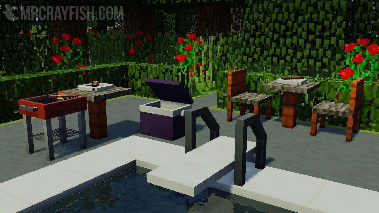 Mrcrayfish 39 S Furniture Mod Minecraft 1 8 1