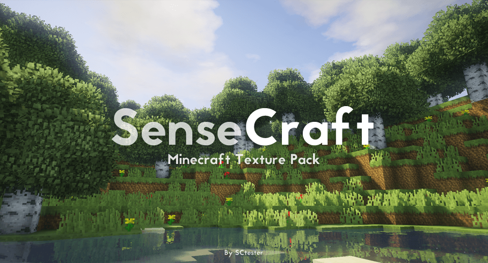 Texture Pack SenseCraft - The-Minecraft.fr